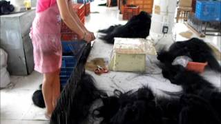 getlinkyoutube.com-Hair Factory in China