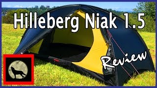 getlinkyoutube.com-Hilleberg Niak 1.5 Lightweight 1-2 Person Backpacking Tent Setup and Review