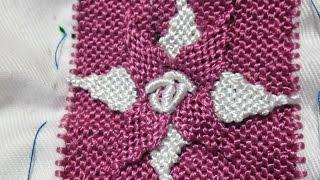 getlinkyoutube.com-تعليم الراندة . بخياطة الوردة بالرندة مع أم عمران randa