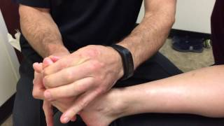 getlinkyoutube.com-Treating an Old Foot Fracture Using Graston Technique & ART