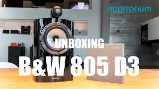 getlinkyoutube.com-Unboxing Bowers & Wilkins 805 D3