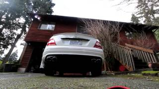 getlinkyoutube.com-Mercedes Benz C350 X-pipe And Muffler Delete