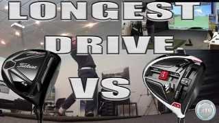 getlinkyoutube.com-Longest drive - Titleist 915 vs Taylormade M1