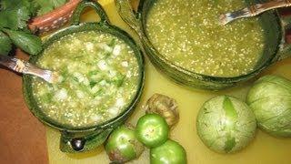 SALSAS TAQUERAS O PARA ANTOJITOS CON TIPS - COMIDA MEXICANA aleliamada.