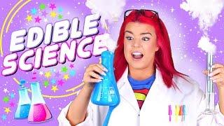 getlinkyoutube.com-DIY EDIBLE SCIENCE EXPERIMENTS!
