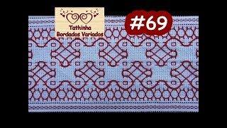 getlinkyoutube.com-Tathinha Bordados #69 - PONTO BASTILHA - PONTO ALINHAVO