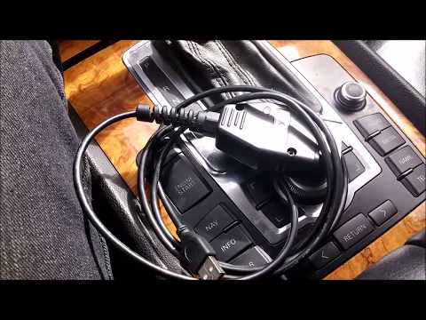 Где разъем для диагностики в Audi 45
