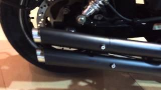 getlinkyoutube.com-harley davidson street 750 exhaust loudest india