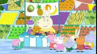 getlinkyoutube.com-Peppa pig en español- día de la fruta