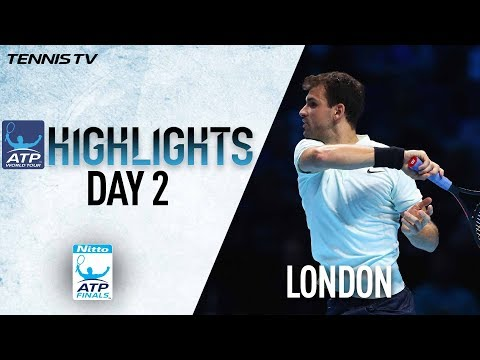 Highlights: Dimitrov Battles Past Thiem In Debut At The O2 Nitto ATP Finals 2017