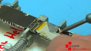 getlinkyoutube.com-IPhone 4/4S Batterie Connector Löten Handy DoktorH