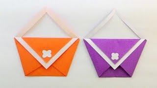 getlinkyoutube.com-Origami bag...พับกระเป๋าง่ายๆ ...