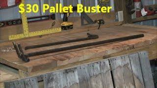 getlinkyoutube.com-How to Pallet Breaking Tool