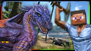 getlinkyoutube.com-ARK Survival Evolved Mod - Minecraft Crossover Roleplay - Tender Dragon