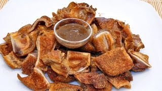 getlinkyoutube.com-CRISPY PORK EARS (Tengang Baboy)