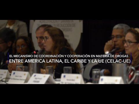 Contribución de COPOLAD al Mecanismo de Coordinación y Cooperación en materia de drogas CELAC-UE.