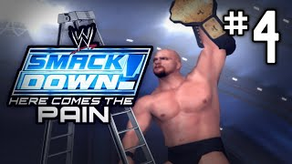 """getlinkyoutube.com-WWE Smackdown Here Comes The Pain! SEASON MODE - Part 4 - """"LADDER MATCH!"""" 
