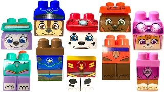 Best Learning Colors Video for Children  - Paw Patrol Ionix Match Heads Bodies