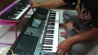 Percuma Lagu Kendang Kempul Banyuwangi-Versi Dangdut Koplo-Nurul-Yamaha PSRS770 feat CASIO SA78