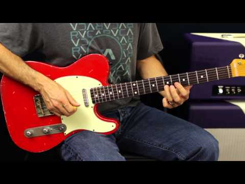 Rhythm Guitar Lesson - Using The Pentatonic Scale - Blues Rock