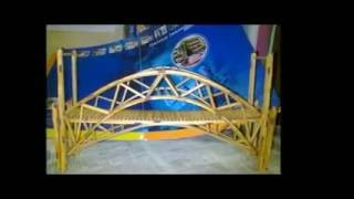 getlinkyoutube.com-Tutorial Miniatur Jembatan Korek Api