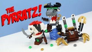 getlinkyoutube.com-LEGO Mixels Series 8 Pyrratz Sharx Skulzy & Lewt Max? Opening Review