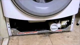 getlinkyoutube.com-Whirlpool duet sport washing machine not draining, codes F05 or F21 showing up