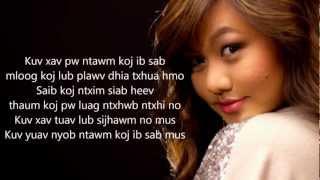 getlinkyoutube.com-[HD] Kristine Xiong Lub Sijhawm with Lyrics