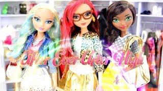 getlinkyoutube.com-DIY - Custom Doll: After Ever After High: - Handmade - Fashion - Crafts