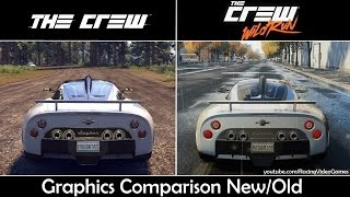 getlinkyoutube.com-The Crew Wild Run vs. The Crew | Graphics Comparison, Rain & Weather, Gameplay Old vs. New (PS4)