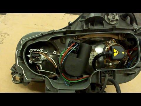 Передняя фара Mercedes-Benz W210.Headlight.