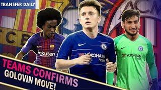 GOLOVIN CONFIRMED || CHELSEA REJECT 3rd WILLIAN BARCA BID || Chelsea Transfer Daily width=