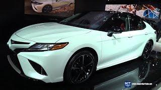 getlinkyoutube.com-2018 Toyota Camry XSE - Exterior and Interior Walkaround - Debut at 2017 Detroit Auto Show