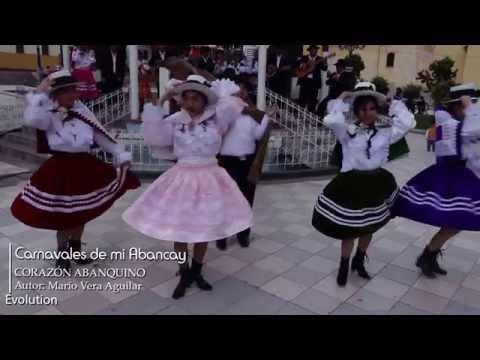 COMPARSA MAYOR CORAZON ABANQUINO - Carnavales de mi abancay, 2015