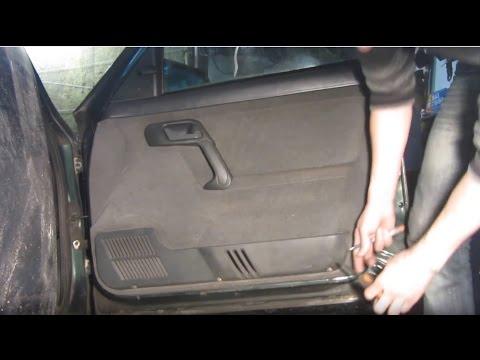 Как снять обшивку двери на ВАЗ 2110, 2111 и 2112