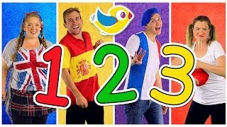 "getlinkyoutube.com-""Counting to 10"" Song in Four Languages! Kids Learn to Count 1 to 10. Numbers Song, Kids Songs"