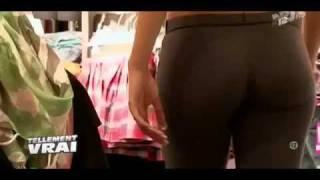 getlinkyoutube.com-hot girl perfect butt spandex pants