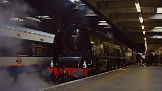 getlinkyoutube.com-46233 'Duchess of Sutherland' | 'The London Explorer' | 14.11.2015
