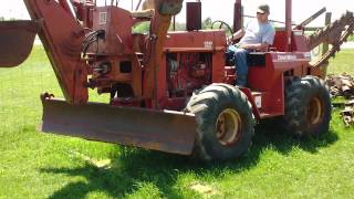 getlinkyoutube.com-Ditch Witch 6510 Trencher/ Backhoe