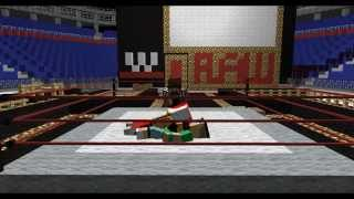 getlinkyoutube.com-Minecraft WWE (John Cena VS Rey Mysterio) ANIMATION