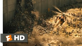 World War Z (5/10) Movie CLIP - Over the Wall (2013) HD