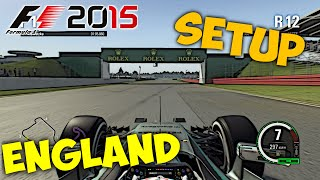 getlinkyoutube.com-F1 2015 England/Silverstone Setup + Hotlap 1:30.783 [PC][Gamepad][[HD+]