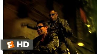 Blade 2 (1/3) Movie CLIP - Motorcycle Fight (2002) HD