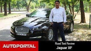 getlinkyoutube.com-Jaguar XF Test Drive Review -  Autoportal