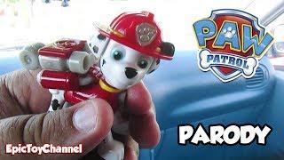 getlinkyoutube.com-PAW PATROL [Parody Toy Video] ICE CREAM TREAT ADVENTURE w/ Marshall + Chase by EpicToyChannel