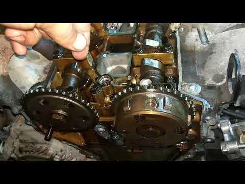 Сетка VVT-i и выпавший клапан / Mazda CX7 2.3
