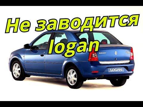 Где стартер в Dacia Логан