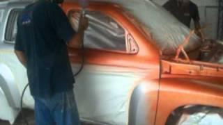 getlinkyoutube.com-como pintar un carro