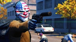 getlinkyoutube.com-PAYDAY 2 - ROBBING A BANK!