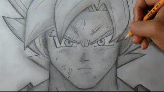 """getlinkyoutube.com-""""Passo a Passo"""" Como desenhar Fase de Deus - Goku  """"Dragon Ball Z"""""""